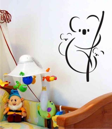 Wandtattoo online shop f r preiswerte wandtattoos koala familie mit kindern wandbild - Wandbild familie ...