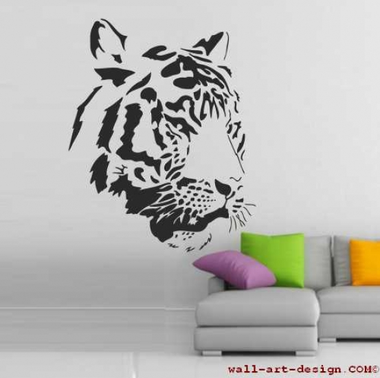 wandtattoo online shop f r preiswerte wandtattoos tigerkopf wandtattoo. Black Bedroom Furniture Sets. Home Design Ideas