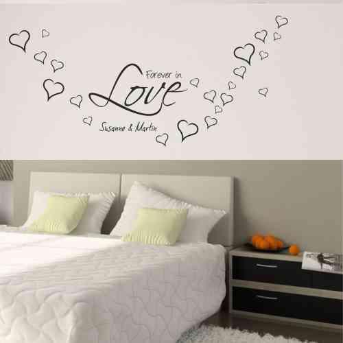 Wandtattoo online Shop für preiswerte Wandtattoos - Liebe Love ...