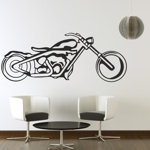 Wandtattoo online shop f r preiswerte wandtattoos shopper fun bike motorrad wandtattoo - Motorrad wandtattoo ...
