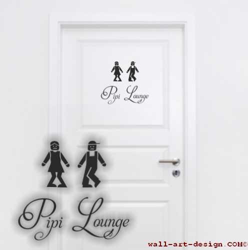 wandtattoo toilette prinsenvanderaa. Black Bedroom Furniture Sets. Home Design Ideas