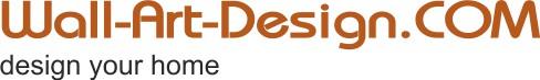 Wandtatto von wall-art-design.com - Unsere zahlreichen Wandtattoos bestehen aus seidenmatter,selbstklebender Vinyl-Folie, die man schnell und einfach selbst anbringen kann.-Logo