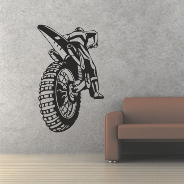 Motocross in Aktion